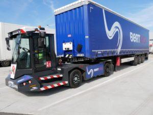 Tracteur de parc ATM électrique à Nîmes