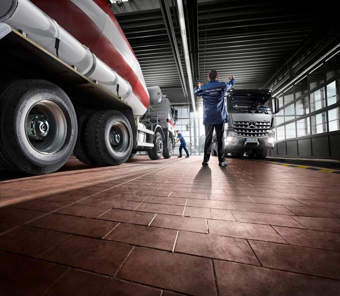 Daimler Trucks atelier coronavirus