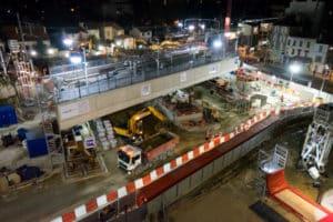 20 avril reprise chantier Grand Paris