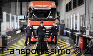 Daf Trucks les usines produisent à nouveau