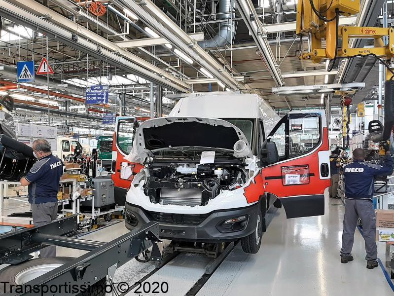 Iveco relance de la production