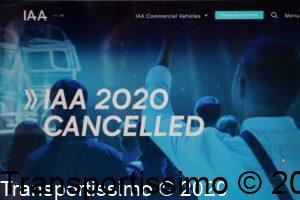 Capture écran IAA annulé